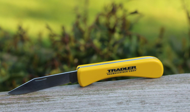 Taschenmesser gelb 6303