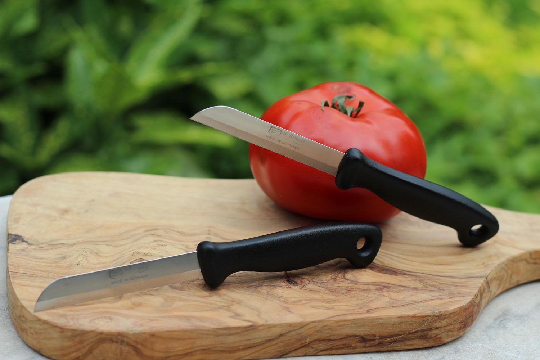 Gemüsemesser schwarz 6363