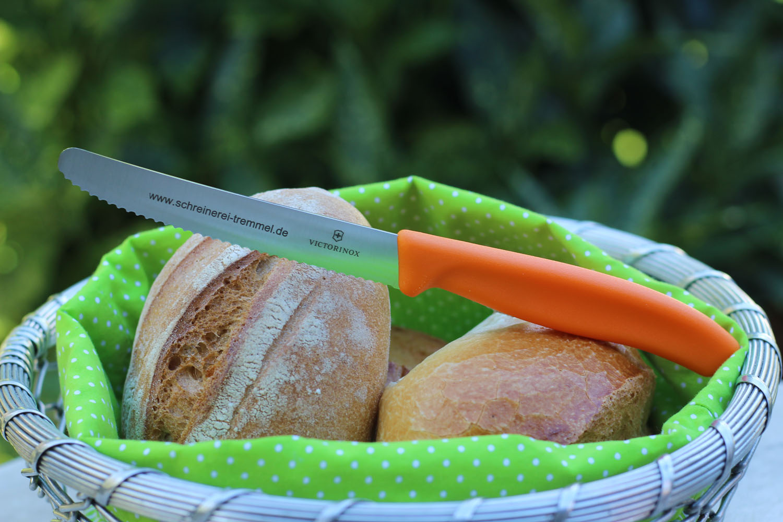 Brötchenmesser Viktorinox, orange